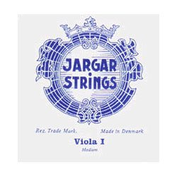 "Jargar up to 16.5"" Viola A String Medium Chromesteel"